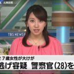 高田積伸の顔画像は?家族は?ひき逃げ容疑で逮捕の28歳警察官/北海道