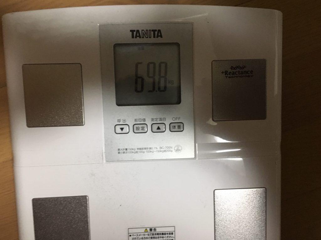 痩せるバイト/TANITAの体重計