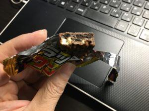 ブラックサンダーを食べてみた